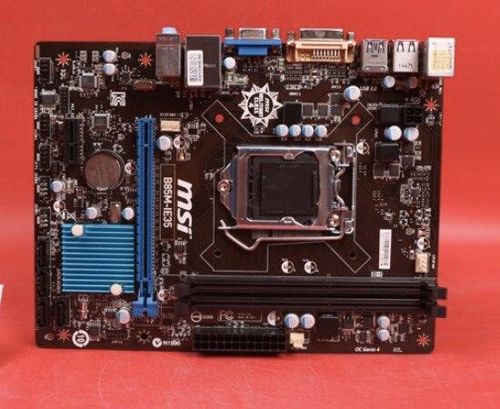 Carte mère d'origine pour MSI B85M-IE35 LGA 1150 DDR3 USB2.0 USB3.0 16 GB B85 Bureau carte mère Livraison gratuite