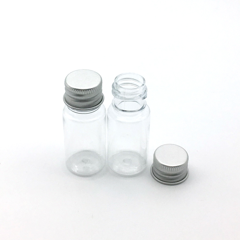 Image 5 - 5PCS 5ml 10ml 20ml 30ml 50ml 60ml 100ml Cream Lotion Cosmetic Container Travel Kits Empty Small Plastic Bottle with Screw Cap-in Refillable Bottles from Beauty & Health