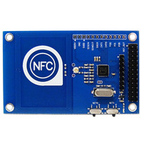 Free Shipping 13 56mHz PN532 For Arduino Compatible With Raspberry Pi Board NFC Card Module To