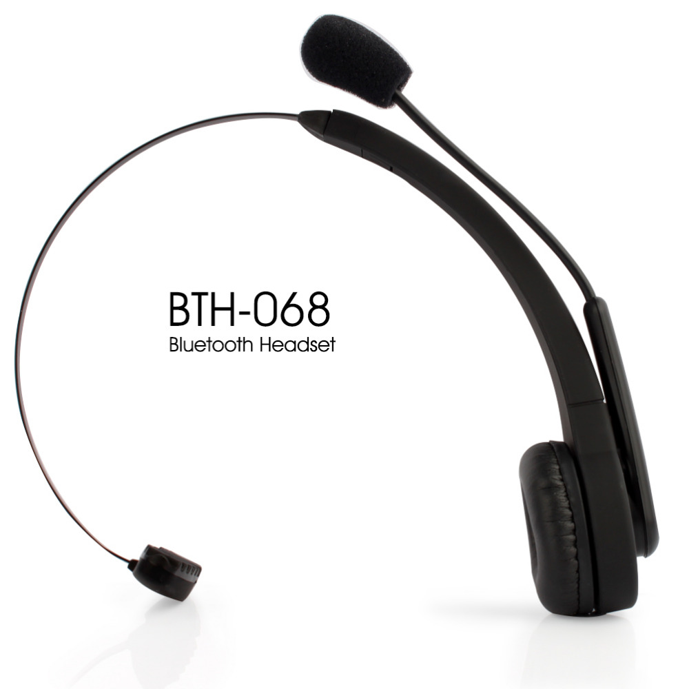 Buy 2015 Brand New BTH-068 Bluetooth Wireless Headset Long Standby Time BT Earphone For PC PS3
