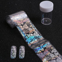 Roses Major Design Nail Art Foil Stickers Water Transfer Manicure Decal Tips Manicure DIY Beauty Nails Accessoires Tips(China)
