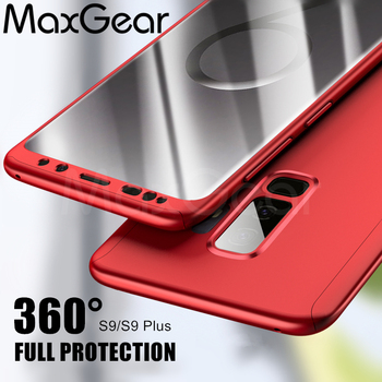 MaxGear 360 Degree Ultra Thin PC Case For Samsung Galaxy S8 S9 Case Cover For Samsung S6 S7 Edge Phone Case