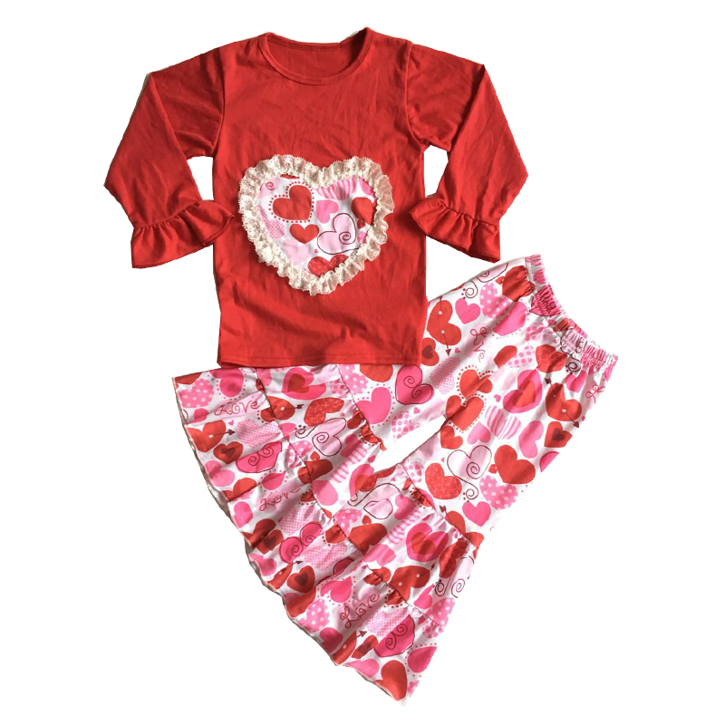 2019 hot sale high quality cotton kids girls clothing