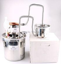 10L ~ 100 литров DIY 3 горшки новый дом алкоголь самогон все еще духи из нержавеющей медь дистиллятор воды важное вино масла Brew комплект