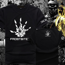Mens Casual Game Battlefield 4 Frostbite3 T-shirts Printed Pattern Cotton Tee Top Short Sleeve Tee Shirts Clothing