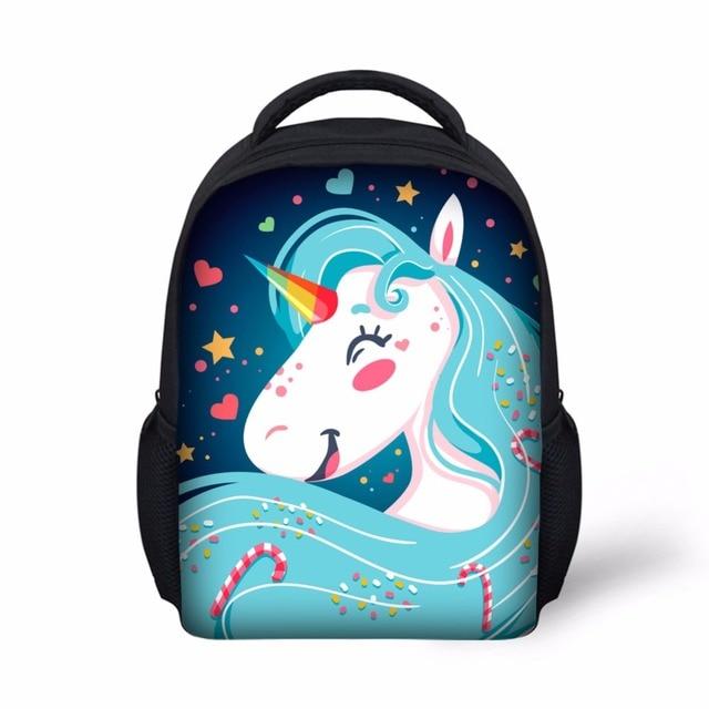 adec3b39c6 Small Backpack 12 Inch Kindergarten Kids bag Comfortable SchoolBag cute  unicorn backpack cheap school bag