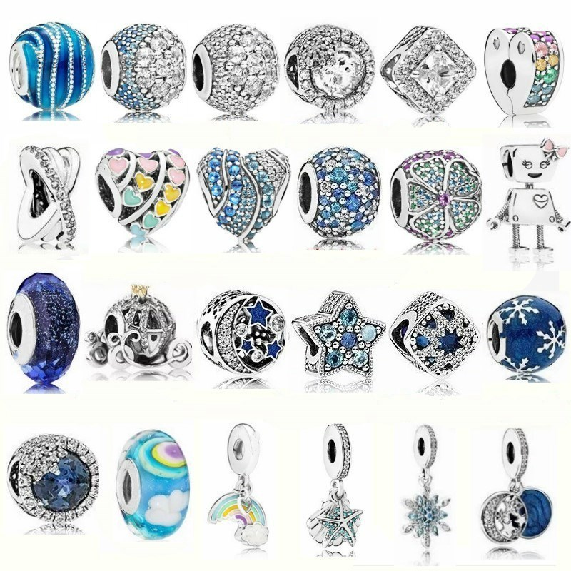 Fashion 925 Sterling Silver DIY Beads Fit Pando Bracelets Jewelry Beads Charms Silver Beads Pandora Bracelet Jewelry Accessories strollgirl car keys 100% sterling silver charm beads fit pandora charms silver 925 original bracelet pendant diy jewelry making