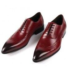 Summer Spring Men Luxury Dress Shoes 2019 New Classic Black Leather Business Elegant Formal Wedding Flat JS-A0084