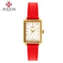 Женский faverite кожа наручные часы женщин моды случайные кварцевые часы Anologe часы Роскоши лучший бренд Юлий 787 часы