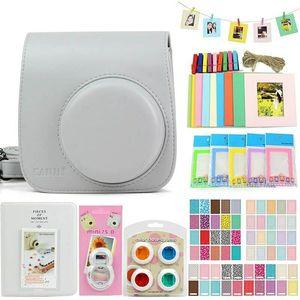 Image 4 - 5สีกล้องอุปกรณ์เสริมสำหรับFujifilm Instax Mini 9 8กล้อง,รวมถึงกระเป๋าพกพา/อัลบั้มภาพ/สติ๊กเกอร์/เลนส์
