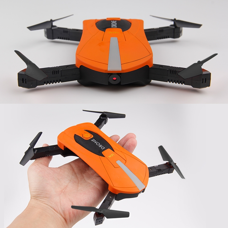 JY018 ELFIE WiFi FPV Quadcopter Mini Foldable Selfie Drone RC Drones with 2MP Camera HD FPV H37 720P RC Mini Helicopters mini wifi fpv rc drone with hd camera h37 mini elfie selfie drone remote control rc quadcopter g sensor control 360 degree roll