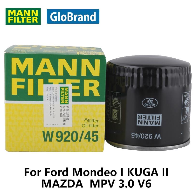 MANNFILTER car oil FilterW920/45 for Ford Mondeo I KUGA II MAZDA MPV 3.0 V6 auto parts  sc 1 st  AliExpress.com & Online Get Cheap Ford Mondeo Car Parts -Aliexpress.com   Alibaba Group markmcfarlin.com