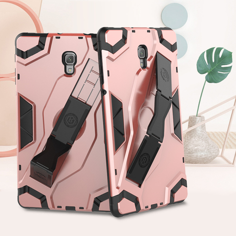 "For Samsung Galaxy Tab A 10.5"" Shockproof 2018 T595 SM-590 T597 Tablet Back hard Armor Cover Samsung Tab A PU+PC Heavy Duty Case Pakistan"