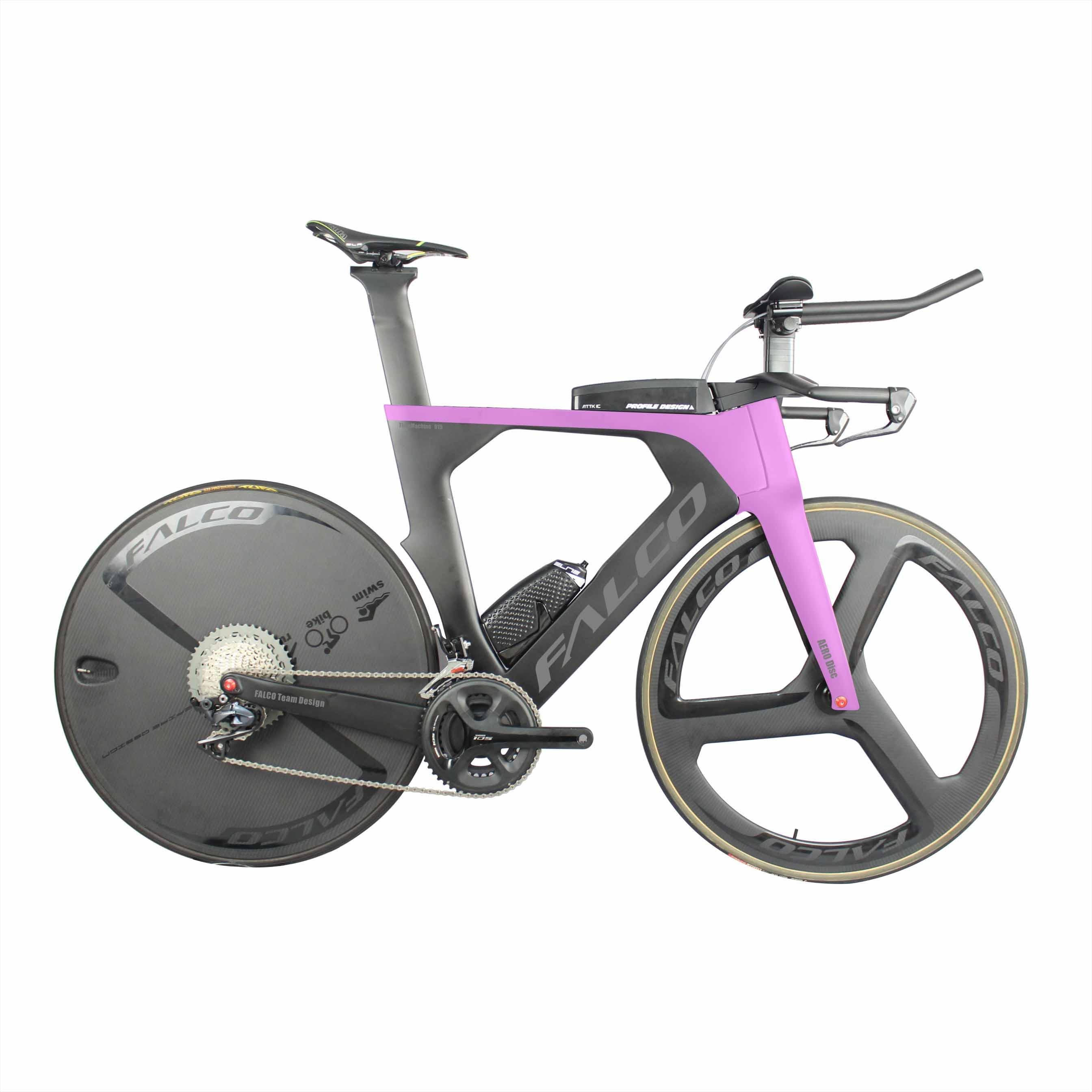 Winow Aero Time Trail Disc BRAKE TT Carbon font b bike b font carbon Road Complete