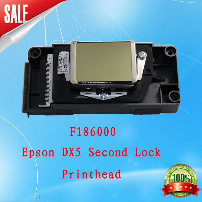 Solvent Second Lock DX5 print head, High Quality New Original Print Head Printhead Compatible For EP DX5 Printer head F18600