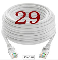 A029 Cable High Speed RJ45 CAT7 Ethernet Network Flat LAN Cable UTP Patch Router Cables717