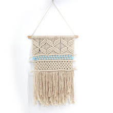 Home accessories tapestry bohemian handmade woven Nordic home decorations