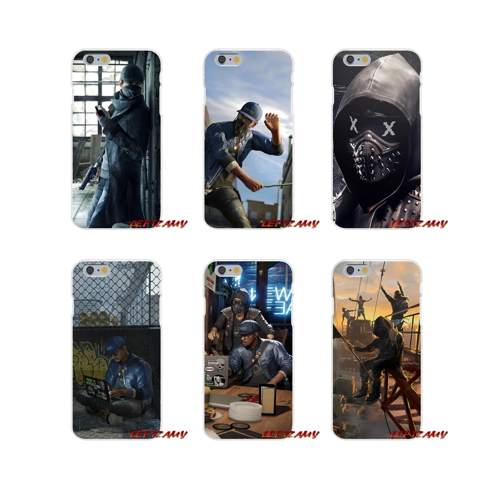 <font><b>Watch</b></font> Dogs 2 Dedsec Accessories Phone Cases Covers For <font><b>Huawei</b></font> P <font><b>Smart</b></font> Mate Y6 <font><b>Pro</b></font> P8 P9 P10 Nova <font><b>P20</b></font> Lite <font><b>Pro</b></font> Mini 2017 image