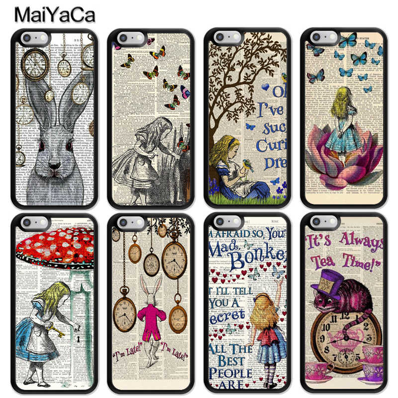 alice in wonderland phone case iphone 7