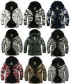 "New Edition ""Southplay"" Winter Season Waterproof 10,000mm Warming Premium Camo Military Jackets"