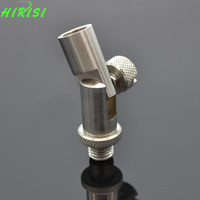 Stainless Steel Angle Adaptor Connector Rod Pod Bank Stick Rest Carp Fishing Tackle