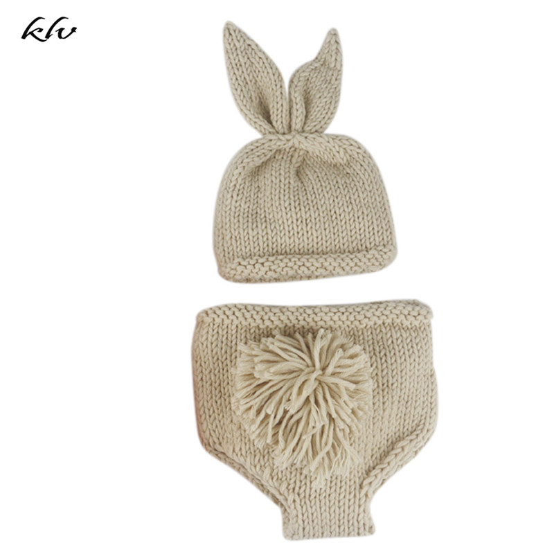 Newborn Baby Hat Boys Girls Cute Crochet Knit Costume Prop Outfits Photo Photography Caps For Newborn Baby Accessories