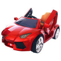 YEMELYA Children Remote Control Electric Ride On Car Four Wheel Double Drive Toy Kids Baby Stroller