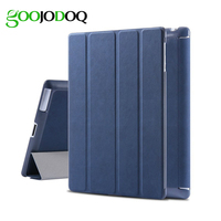 Original Matte Leather Smart Case For IPad 2 3 4 Magnetic Ultra Thin Flip Stand Cover