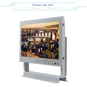 Image 2 - 7 inch white BNC LCD monitor medical equipment industrial equipment computer monitor HDMI mini screen