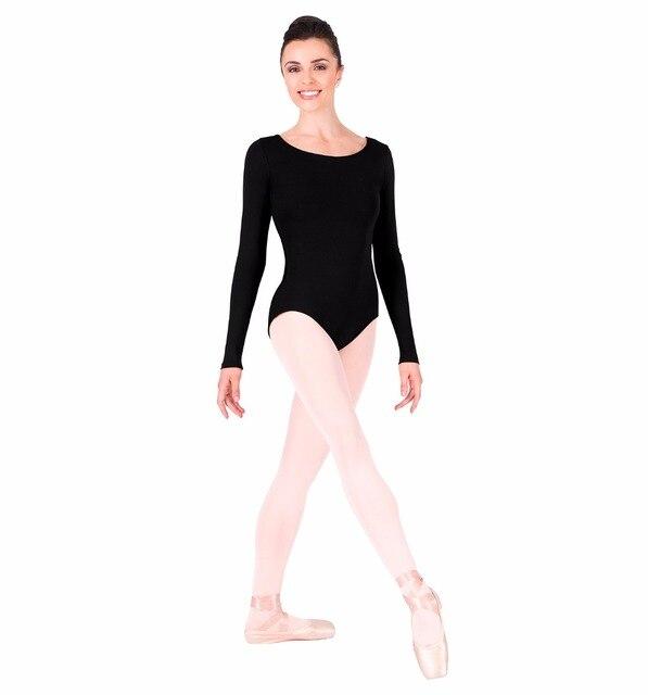 Speerise Adult Gymnastics Long Sleeve Leotard Bodysuit Womens Spandex Lycra  One Piece Dance Leotard Dancewear a709c5580