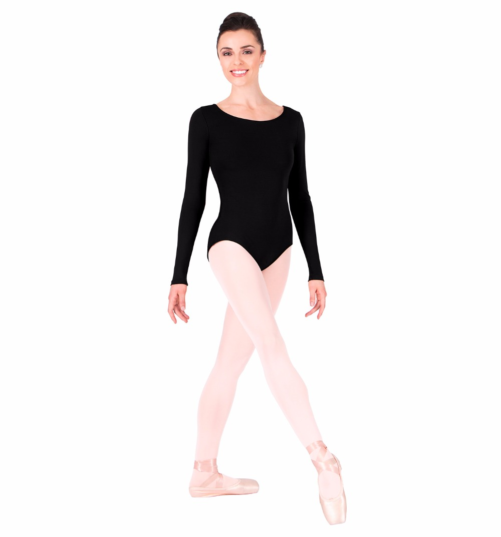 Black spandex dance unitard gymnastics and dancewear - Speerise Adult Gymnastics Long Sleeve Leotard Bodysuit Womens Spandex Lycra One Piece Dance Leotard Dancewear