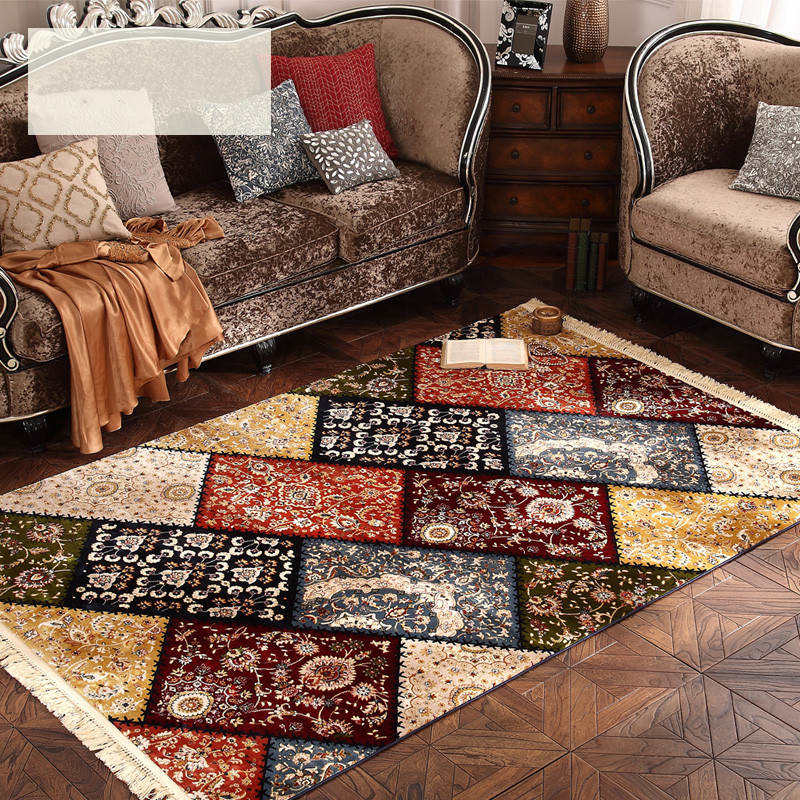 200X290cm Luxury Royal Soft Creative European Style Large Carpet For Living Room Bedroom Kid Play Soft Rug Classical Home Floor
