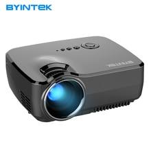 2017 Nueva GP70 proyector HD 1080 P 1800 lúmenes LED HDMI USB de vídeo de Cine En Casa Portátil LCD AM01S Pico Mini Proyector DLP Beamer