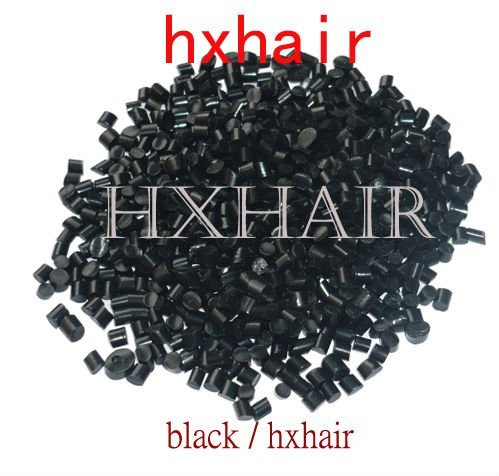 Freeshipping - 2KG Black Glue Grain / Fusion Glue / HIGH QUALITY