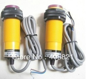 photoelectric switch, E3F3-10DY1, 10L ,AC,2-wire NO,diameter 30mm,free shipping ! silent wire ac 44 ag powercord 1 5m
