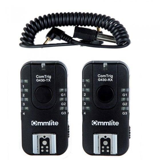 Accessoires photographiques ComTrig G430 groupe Flash déclencheur 1 Kit pour appareils photo Canon Olympus