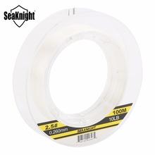 SeaKnight 100% Japan Material 3-50LB Fluorocarbon Fishing Lines 100M Carbon Fiber Leader Fly Line Fast Sinking for Carp Fishing