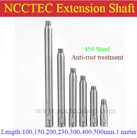 4'' 6'' 8'' 9'' 12'' 20'' 40'' long Extension pole cord for crowns Core drill Bit | 100,150,200,230,300,400,500mm,1 meter shaft 6 inch core drill bit shaft extension rod 150mm core bits extension pole for drilling deep hole thick wall