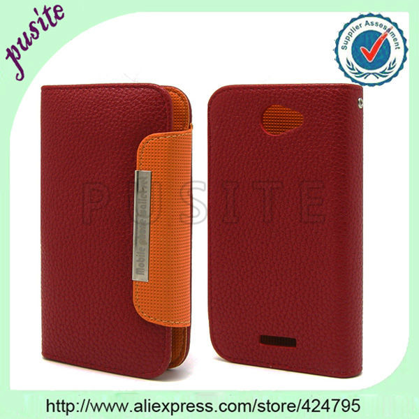 FREESHIPPING 1PCS PU LEATHER PULL TAB POUCH SKIN CASE FOR GOOGLE NEXUS 4 Galaxy S4 NEXUS,with a free Phone Strap
