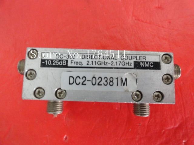 [BELLA] NMC DC-390 2.11-2.17GHz Coup:10.25dB SMA Coaxial Directional Coupler
