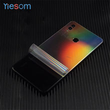 Carbon Fiber Soft Film For Huawei Honor Note 10 Transparent Matte Sticker Screen Protector Back Film For Huawei Honor Note 10(China)