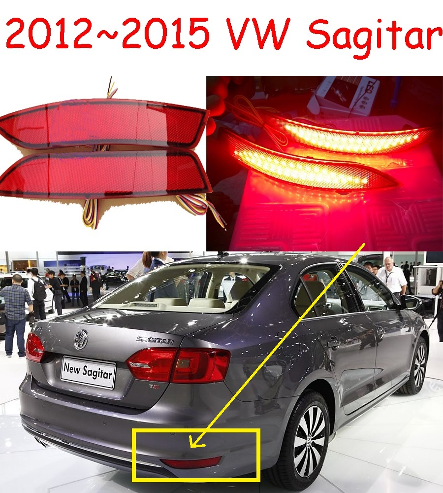 Jetta Rear light,LED,2012~2015,Touareg,sharan,Golf7,routan,sagitar,polo,passat,Scirocco fog light,Free ship!Jetta taillamp tiguan taillight 2017 2018year led free ship ouareg sharan golf7 routan saveiro polo passat magotan jetta vento tiguan rear lamp