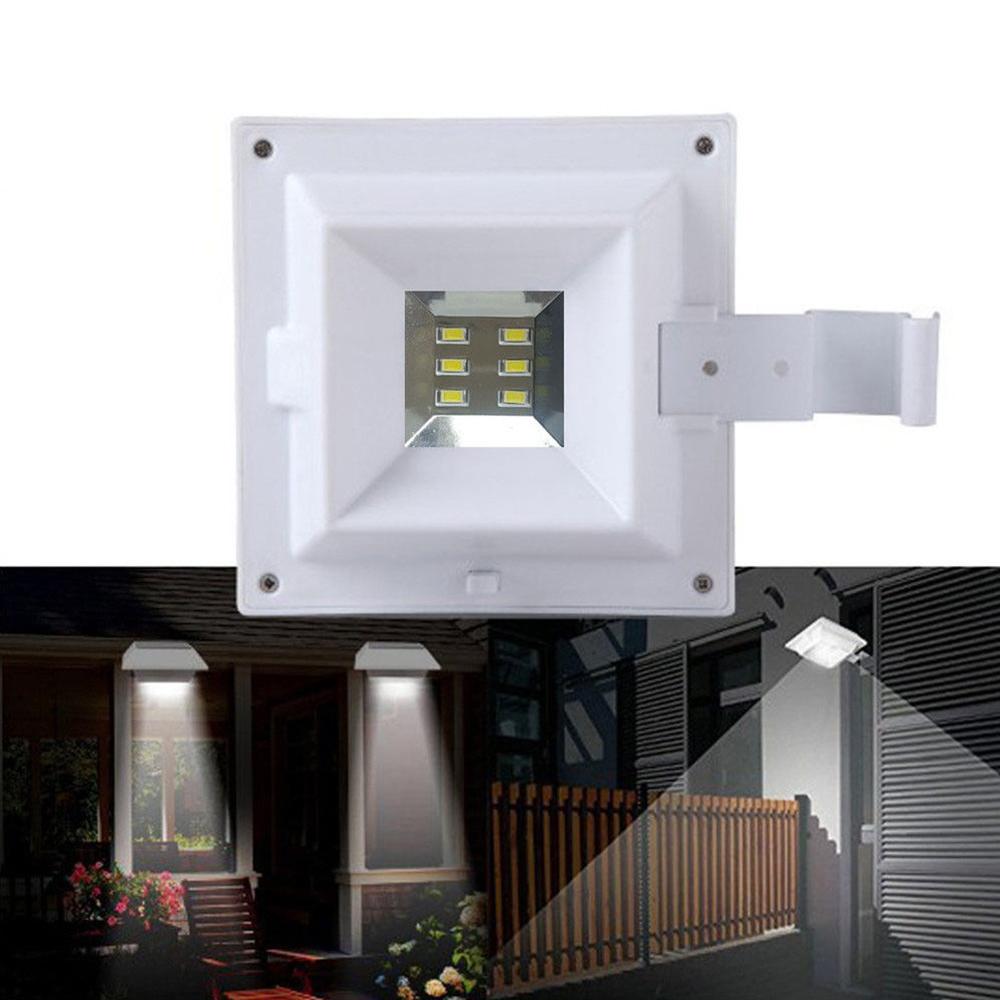 Proyector exterior con energia solar encendido automático