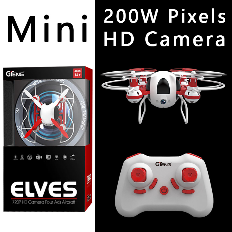 Micro Remote Control Toys Mini Drone With HD Camera Droni
