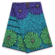 Dutch wrapper wax Ankara African Wax Prints Fabric printed pattern 100% cotton material