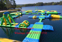 hot selling giant inflatable water park,sports inflatable water floats,inflatable floating water park for sale