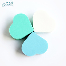 3 Pieces/Bag Cosmetic Puff High Quality Beauty Accessories Makeup Tools Soft Face Cleaning Pad Heart-Shaped Multifunction Puff