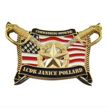 High quality and fast delivery American flag coin military challenge