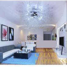 LED Ceiling Lights For Living Room  Lustre De Cristal Teto Light Fixtures Led Lights For Home  110v-220v LED G4 Lustres стоимость