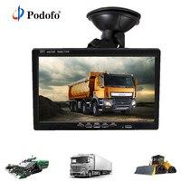 Podofo 7 дюймов HD автомобильный монитор заднего вида Камера для RV грузовик с прицепом, автобус Парковочные системы Системы с ИК Камера